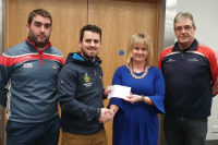 Harty Cup Grant Presentation 12.02.19 - Photo Courtesy of Cian O' Brien