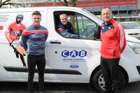 Presentation of kit vans to Cork Senior Teams 2018
