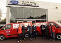 Van Presentation to Senior Cork teams by Cab Motors 2017
