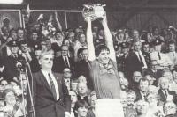 John Fenton Lifts McCarthy Cup 1984