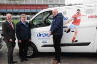 Presentation of kit vans to Cork Senior Teams 2018