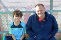 Cork Hurlers - Sean Guiheens and Richie Mooney