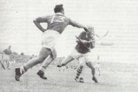 Christy Ring & Richie Browne in action v Waterford in Thurles