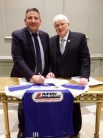 MW Hire's Matty Walsh & Gerry Kavanagh