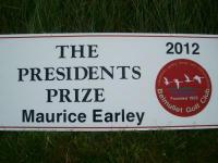 Maurice Earley President's