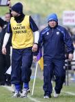 Waterford's Manager Derek McGrath and Selector Dan Shanahan.