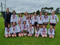 CUFC U12 Girls Division 1 Winners 2020-2021