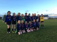 CUFC U12A Girls are Championship League winners 2019