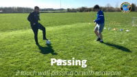 CUFC Easter Camp at home - Day 3 Wednesday