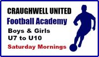 CUFC Academy starts Saturday 28 September