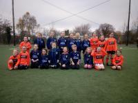 CUFC U8 girls v Bearna Na Forbacha on saturday 17 November.