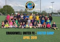 Players at our 2019 Easter Camp