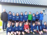 CUFC U14 Girls v Colga 8 March 2015