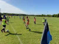 CUFC U12 Boys in training pods May 2021