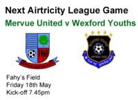 Mervue Utd v Wexford Youths