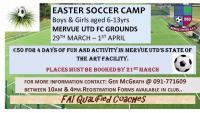 Easter Soccer Camp 2016