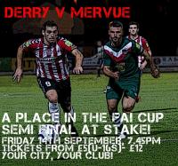 FAI Ford Cup v Derry City,Friday