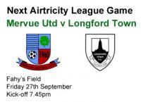Next Game v Longford Town