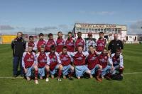 Under 14s Cup Winning Squad