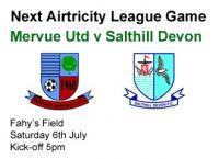 Next Game v Salthill Devon