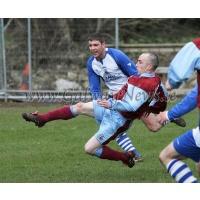 Ollie Keogh in action for Mervue