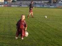 Noah Folan Mervue Utd mascot
