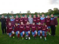 Under 16 League Winners 2012