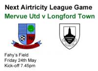 V Longford Town 24.05.13