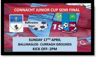 Connacht Junior Cup 2016