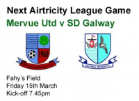 Mervue Utd v SD Galway 15.03.13