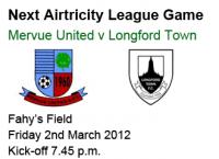 Mervue Utd v Longford Town