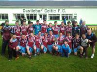 U16's Connacht Cup Champions