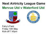 v Waterford Utd 10.05.13