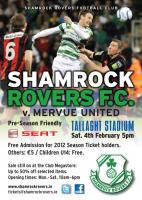 Shamrock Rovers Friendly 04.02.12