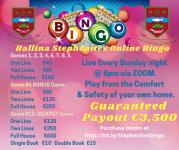 €3500 Guaranteed Bingo Payout