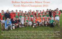 North Mayo Minor A Champions 2011