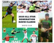 David Clarke All Star Nomination 2020