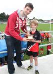Presentation to St. Mary's Captain