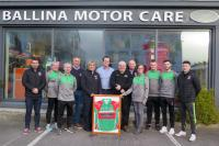 Ballina Motor Care sponsors Ballina Stephenites for Seventh Year
