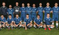 Ballybofey United team who played Convoy Arsenal on Friday night at Orchard Park