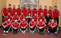 The Oscar Traynor panel pictured before the semi-final in Ennis