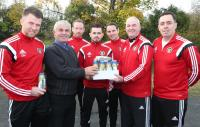 Donegal Creameries sponsor high protein drinks for Oscar tray nor team