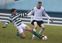 Match action from the match between St. Catheirnes and Rathmullan Celtic