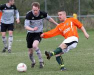Castlefin Celtic Reserves v Glencar Celtic semi-final Downtown Cup 2014