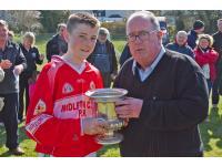"Liam Ã"" Laochdha presents cup"