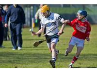 Kelvin O'Farrell controlling the sliothar