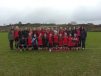 Connacht A Girls Junior Schools Champions 2014