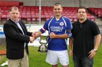 Swinford Captain Declan Munnelly Presented With Cup