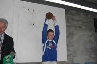 David Brady holds aloft the Mayo FA Cup! - Oh what a wonderful sight!