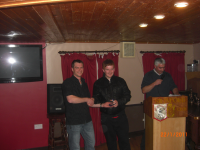 Anthony Friel Receives Award